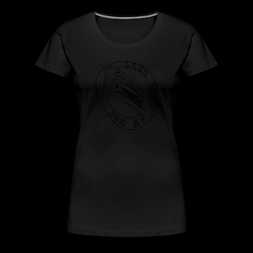 Jack Trax on Wax BLACK - Women's Premium T-Shirt