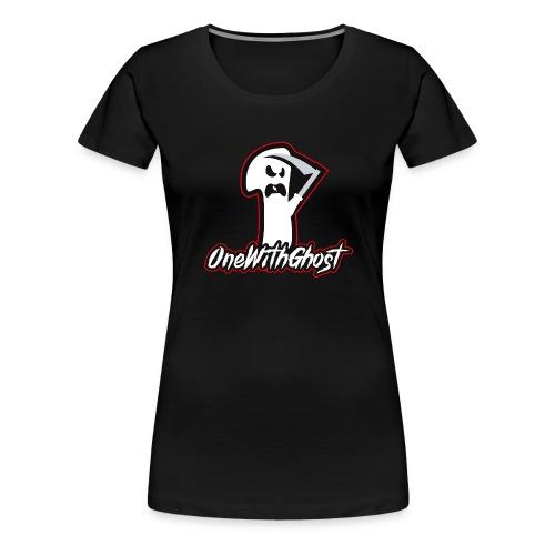 OneWithGhost - Premium-T-shirt dam