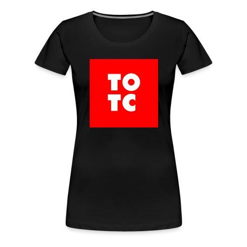 TOTC red - Naisten premium t-paita