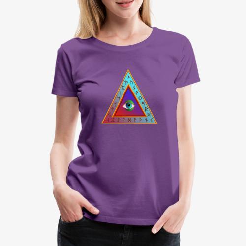 Dreieck - Frauen Premium T-Shirt