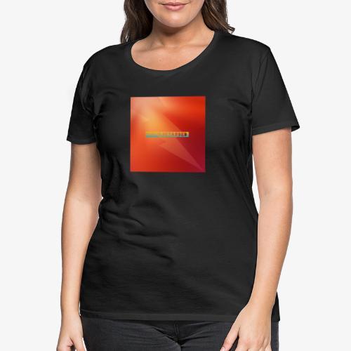 The Logo - Premium T-skjorte for kvinner