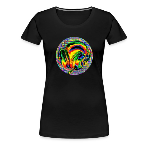 Casque à facettes - T-shirt Premium Femme