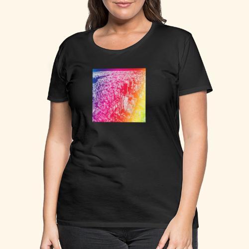 Manhattan arcobaleno - Maglietta Premium da donna