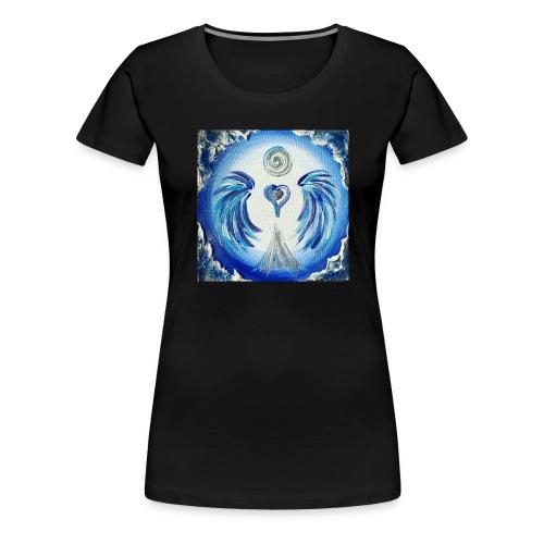 Herzengel der Entscheidung - Frauen Premium T-Shirt