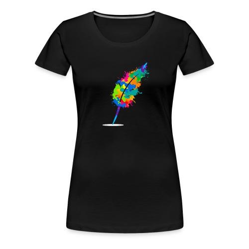 Original Schreiben-im-Flow.de - Feder - Frauen Premium T-Shirt