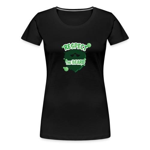 Respect The Beard - Women's Premium T-Shirt