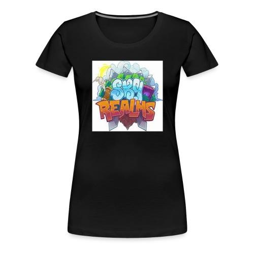 """Das Logo von ,,Sky Realms""""! - Frauen Premium T-Shirt"""