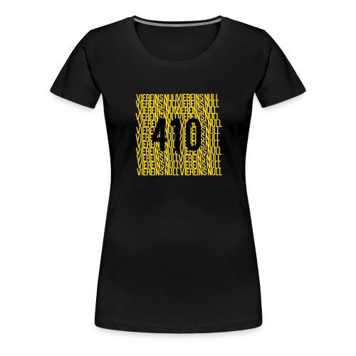 410 Logo - Frauen Premium T-Shirt