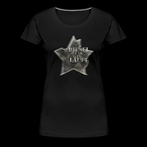 Diesel und es Läuft - Frauen Premium T-Shirt