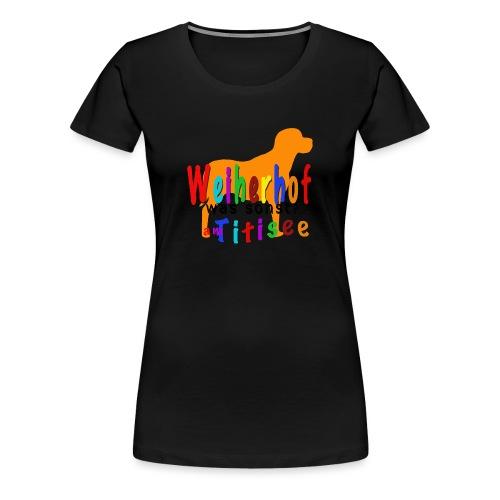 Weiherhof am Titisee - Frauen Premium T-Shirt