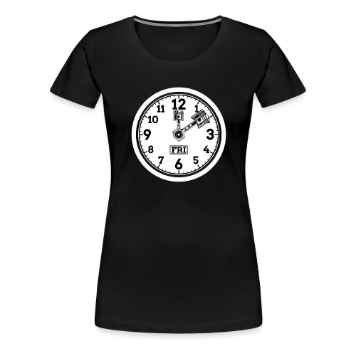 Friday for Hubraum - Frauen Premium T-Shirt