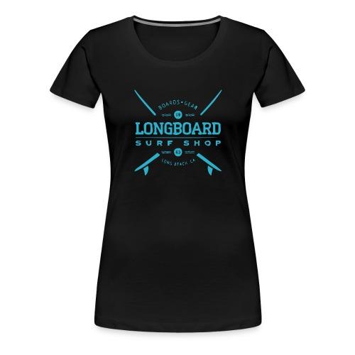 LONGBOARD - Frauen Premium T-Shirt