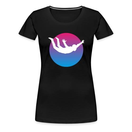 Skydiving - Frauen Premium T-Shirt