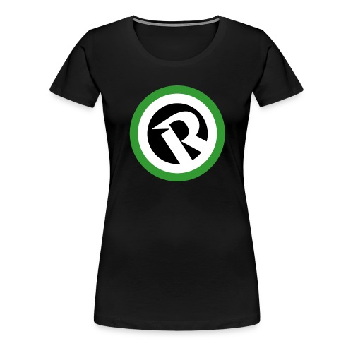Logo Reborn Green Flat - Women's Premium T-Shirt