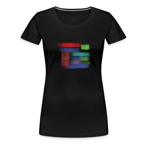 Farben von meine kleine Prinzessin - Frauen Premium T-Shirt