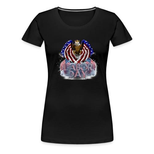 Aigle américain - T-shirt Premium Femme