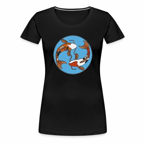 Koi - Frauen Premium T-Shirt