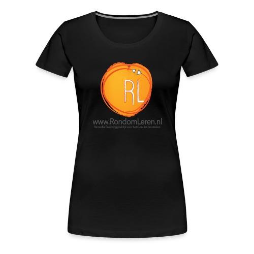 RondomLerenTasBedrukking - Vrouwen Premium T-shirt