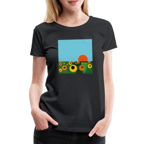 Tournesol - T-shirt Premium Femme