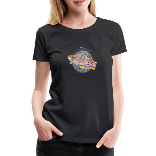 Space Fish Bluecontest - T-shirt Premium Femme