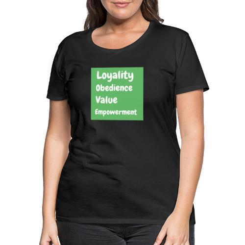loyality - Premium-T-shirt dam