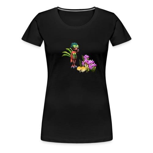indigo women wirbeli - Frauen Premium T-Shirt