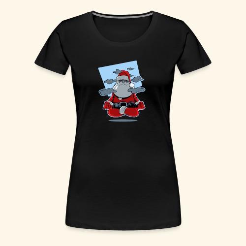 Papa Noël zen - T-shirt Premium Femme