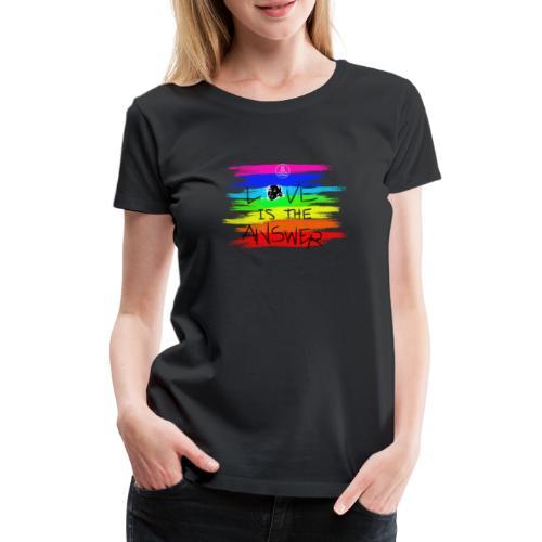 LoveIsTheAnswer MaitriYoga - T-shirt Premium Femme