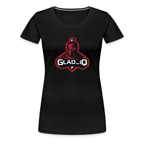 Glad_IQ Logo 1 - Frauen Premium T-Shirt