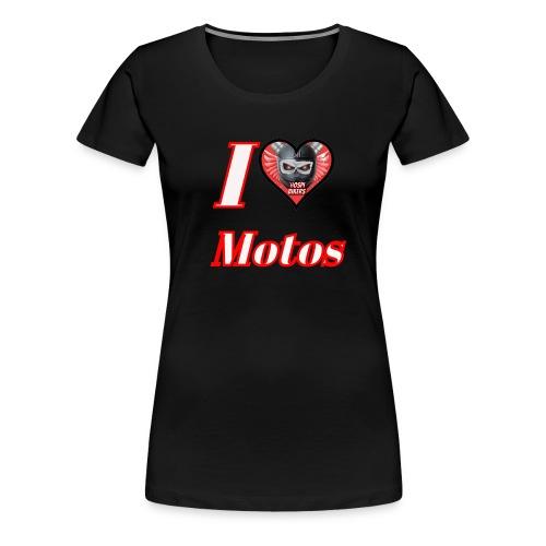 ilovemotos - Camiseta premium mujer
