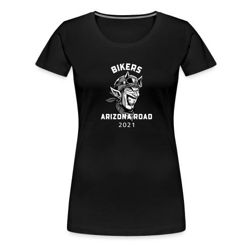 biker arizona road - T-shirt Premium Femme