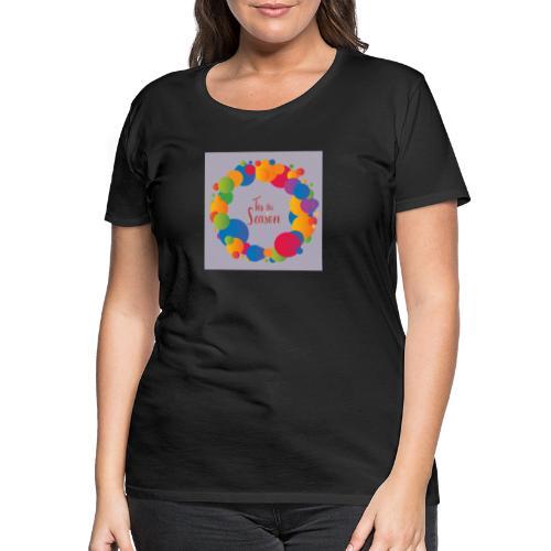 Magliette da donna con risvolti - Maglietta Premium da donna