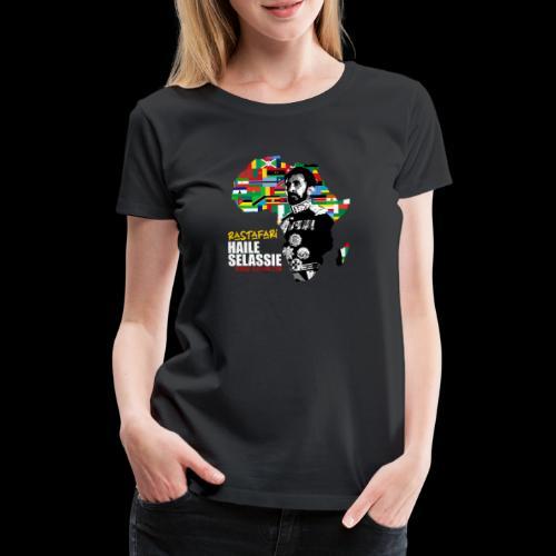 RASTAFARI ALL NATIONS - Frauen Premium T-Shirt