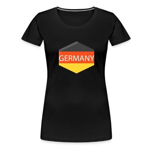 germany - Women's Premium T-Shirt