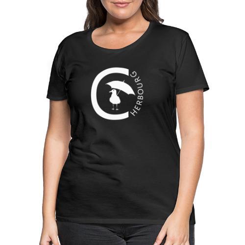 Cherbourg et mouette - T-shirt Premium Femme