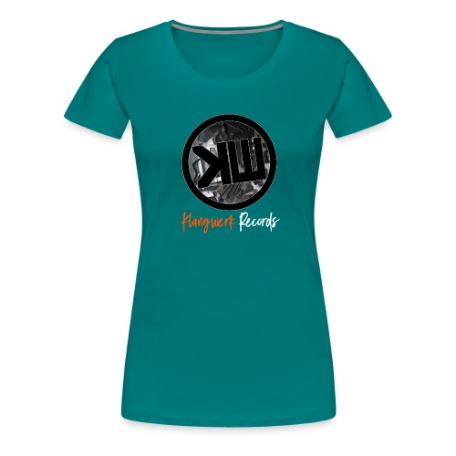 white logo tshirt - Women's Premium T-Shirt