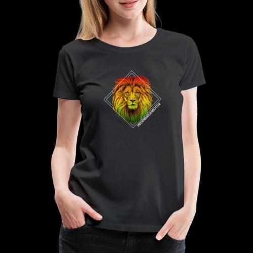 LION HEAD - UNDERGROUNDSOUNDSYSTEM - Frauen Premium T-Shirt