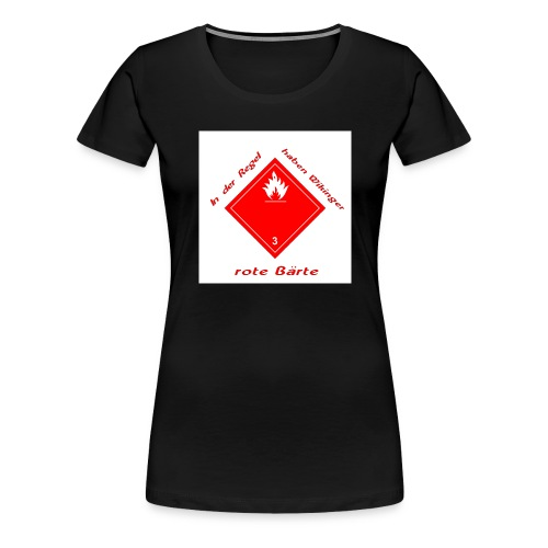 In der Regel... - Frauen Premium T-Shirt