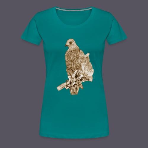 tierische Freunde - Frauen Premium T-Shirt