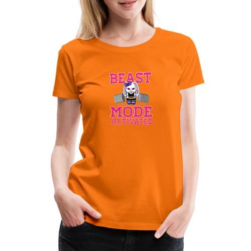 Bunny Power Lifting - T-shirt Premium Femme