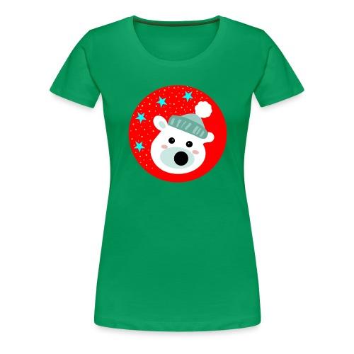 Winter bear - Women's Premium T-Shirt