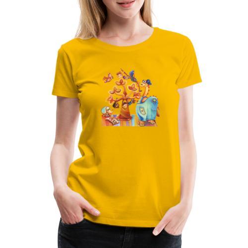 Dinosauro buono - Maglietta Premium da donna