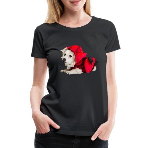 Glaube und Wahrheit- Amor zum Valentinstag - Frauen Premium T-Shirt