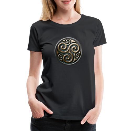 Celtic trisquel - Women's Premium T-Shirt
