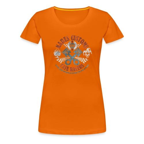 Kabes Cafe Racers T-Shirt - Women's Premium T-Shirt