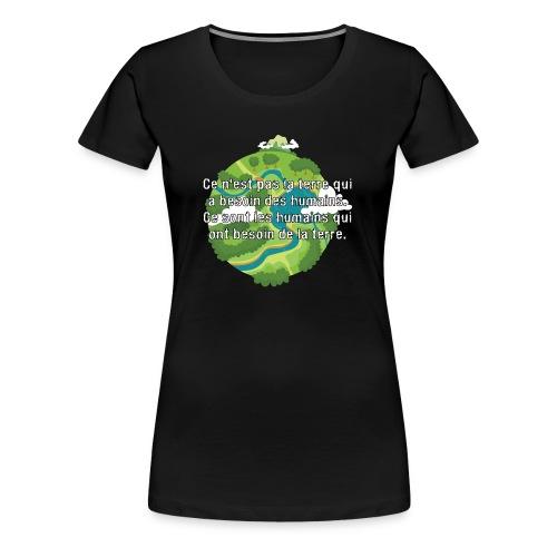 our earth - Women's Premium T-Shirt