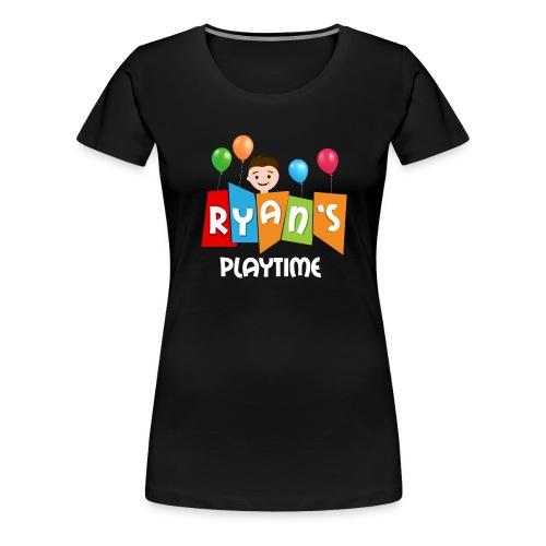 Playtime with Ryan - Women's Premium T-Shirt