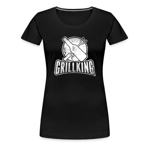 Grillking - Frauen Premium T-Shirt