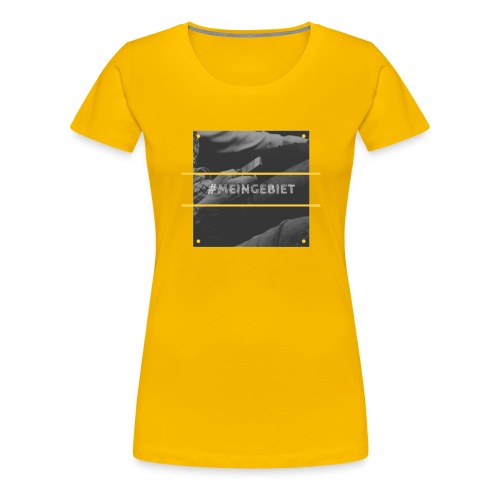 MeinGebiet - Frauen Premium T-Shirt