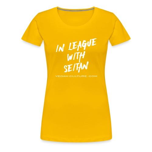 Seitan Power - Vegan Culture - Frauen Premium T-Shirt